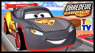 Disney Pixar Cars Lightning McQueen (New Bowling Alley Track) | Cars Daredevil Garage