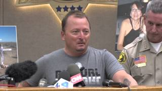 video San Bernardino County Sheriff John McMahon held a Press Conference Friday, November 7, 2014 at Sheriff's Headquarters to announce the arrest of Charles