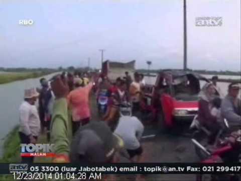 [ANTV] TOPIK Sopir Ngantuk, Mobil Masuk Jurang