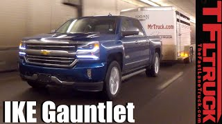 2016 Chevy Silverado 6.2L vs Ike Gauntlet Extreme Towing Review (TFL Gold Hitch #1)