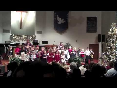 Good Shepherd Academy Christmas Program 2012 - K4