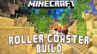 Minecraft Tutorial:  Underwater Roller Coaster Show Scene   (Scarland Coaster Build Ep.33)