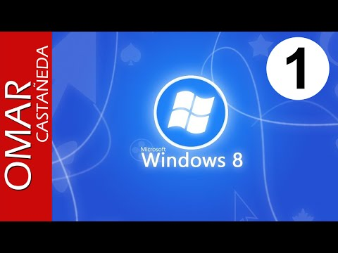 QUE ES - COMO USAR WINDOWS 8 LO NUEVO E INTERFAZ PARTE 1