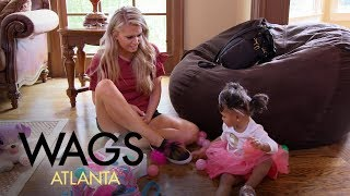WAGS Atlanta | Kaylin Jurrjens Babysits Kierra Douglas