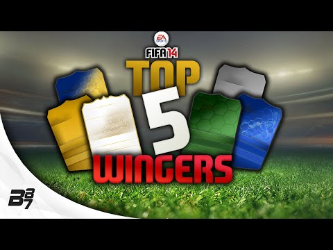 TOP 5 WINGERS Gold Silver FIFA 14 Ultimate Team