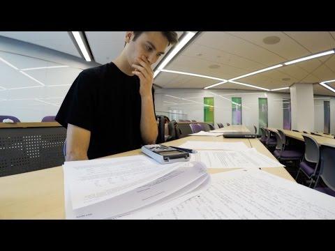 College Finals Week at NYU – DITL 31