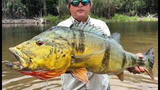 CRISTIAN VANEGAS (Cap. 2) River MATAVEN Peacock Bass Fishing in Colombia 2016 Tucunare o Pavon.