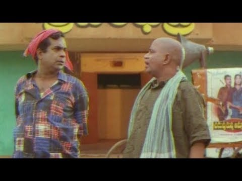 Brahmanandam Movie Theatre Best Comedy Scene | Thaali Movie Comedy Scenes | TFC Comedy Time