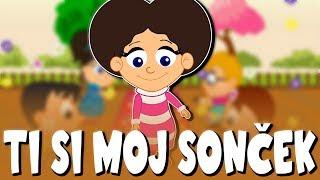 Ti si moj sonček | Uspavanke za otroke | You Are My Sunshine in Slovenian