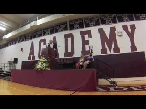 The Columbus Academy 100th Commencement Address - Intro for Meredith Kessler - 06/21/2013