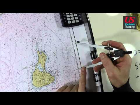 Captain License Chart Navigation – Estimated Time of Arrival Practice Problem 3
