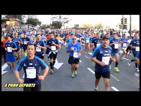 Paso de Atletas Media Maraton de Buenos Aires 06 set 2015 parte 2