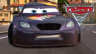 Cars 2 [HD] #19 Gameplay with Hook, Mater, Lightning McQueen, Holley, Luigi, Guido, Piston Cup