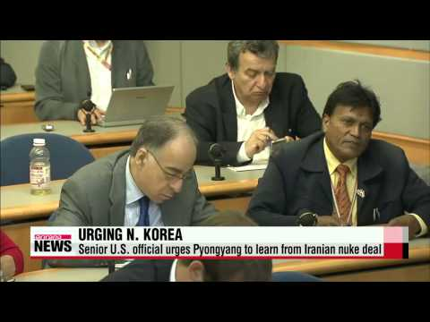 Senior U.S. official urges Pyongyang to learn from Iranian nuke deal   웬디 셔먼 &qu