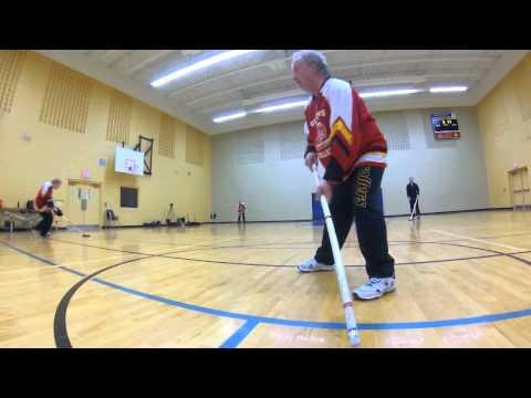Floor Hockey - Passing Skills