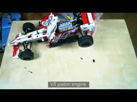 Lego Technic 42000 Grand Prix Racer Review & Time Lapse Build