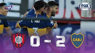 San Lorenzo - Boca Juniors [0-2] | GOLES | Superliga Argentina Fecha 7 | FOX Sports