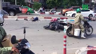 Xe khách gây tai nạn kinh hoàng ở Quảng Ninh do nổ lốp?  VTC14