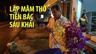 Dậy sớm, lập bàn thờ tiễn đưa cố Thủ tướng Phan Văn Khải về đất mẹ