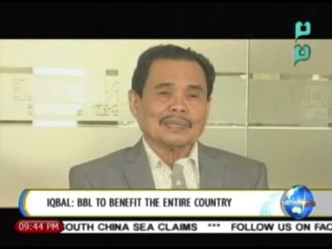 [NewsLife] Iqbal: Bangsamoro Basic Law to benefit the entire country || June 3, 2014