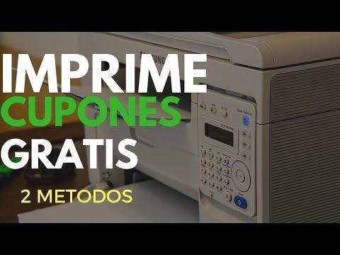 Cómo Imprimir cupones GRATIS más de una vez - Dos métodos