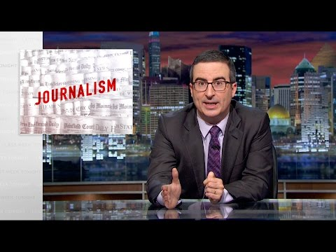 Journalism: Last Week Tonight with John Oliver (HBO)
