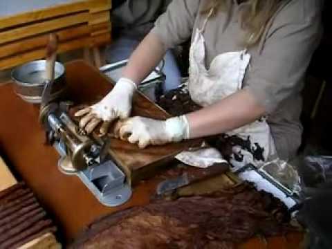 il Sigaro - come si confeziona un  toscano originale