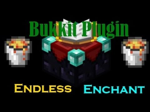 Minecraft - Endless Enchant Plugin Showcase/Tutorial