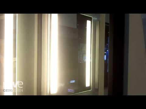 CEDIA 2014: Electric Mirror Shows Vive Bluetooth Mirror Speaker, Keen Dimming Mirror