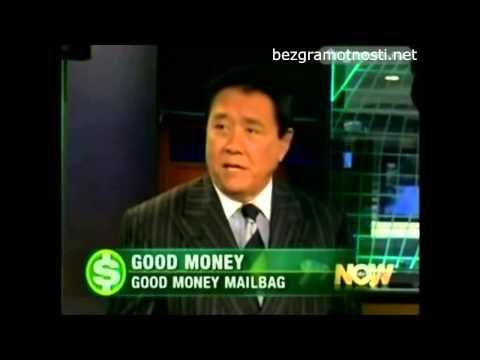 ШФУ Кийосаки в программе Умные деньги на канале ABC News