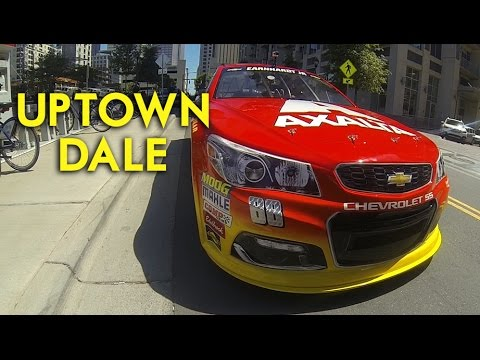 Takin' it to the streets with Dale Earnhardt Jr.