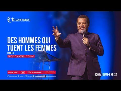 Des hommes qui tuent les femmes  Suite Pasteur MARCELLO TUNASI culte du 03 juillet 2020