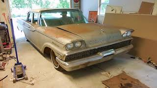Part 12 Will It Run? 1959 Mercury Monterey Asleep For A Decade