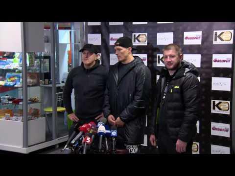 Александр Усик, чемпион мира по версии WBO. О защите пояса в США