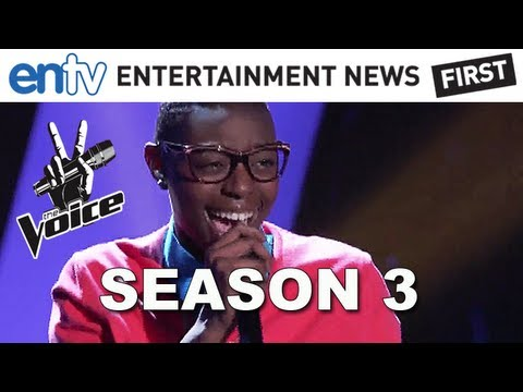 More Season 3 Coverage Of 'The Voice'! http://bit.ly/Qkebte Season 3 of 'The Voice' began last night and Christina Aguilera, Cee Lo, Blake Shelton and Adam L...