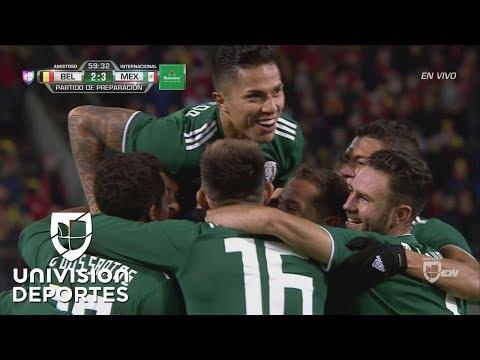 ¡GOLAZO! ?Chucky? Lozano | Bélgica 2-3 México