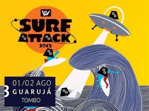 Hang Loose Surf Attack 2015 - 3° Etapa - 1° Dia