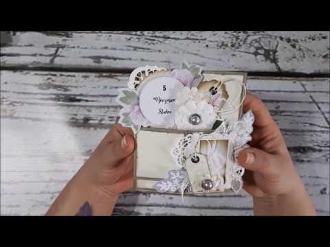 Pop Up Box Card Na Rocznicę ślubu