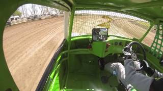 Autograss Racing onbord with Ben Fiddler YD295