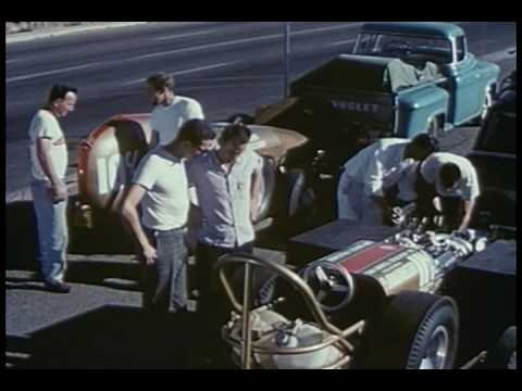 Ingenuity In Action  ~ 1959 NHRA Hot Rod Film