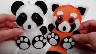 Panda Plush Tutorial