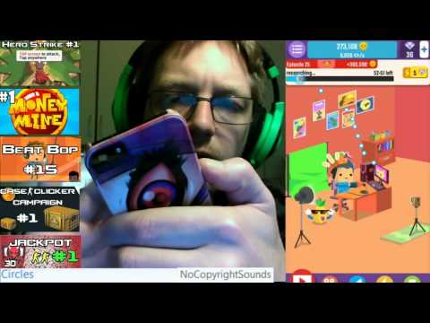 Vlogger Go Viral #4   Trying Viral   Tapps Games Clicker Game