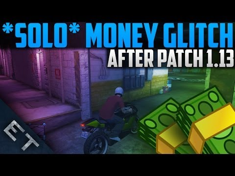GTA 5 Online – SOLO Unlimited Money Glitch After Patch 1.13! (GTA 5 Solo Money Glitch 1.13)