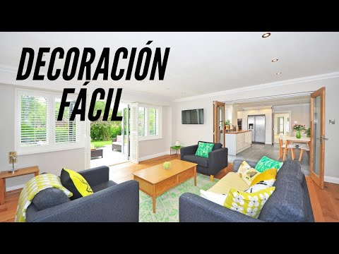 Decoración fácil. Easy home decorating. Ecodaisy.