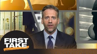 Max: Western Conference is a 'wrap' when Rockets start 'actually playing well'   First Take   ESPN