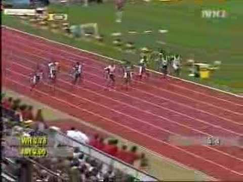maurice greene vs asafa powell @ 2004 zurich golden league