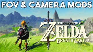 Zelda Breath of the Wild | Awesome New Camera and FOV Mods