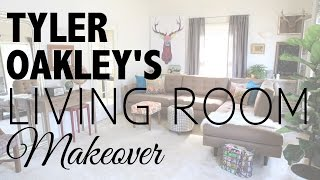 Living Room Makeover with Tyler Oakley