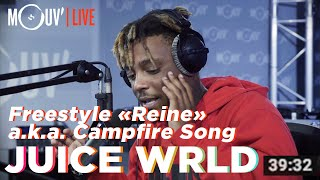 "Juice WRLD freestyle sur ""Reine"" de Dadju / ""Campfire Freestyle"" [official]"