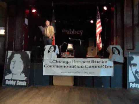 Part 3 - Ray Collins speech CHSCC - 1981 Long Kesh Hunger Strike commemoration